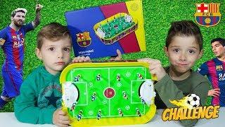 Επιτραπέζιο Παιχνίδι ⚽ ΠΟΔΟΣΦΑΙΡΑΚΙ ⚽ Έκδοση BARCELONA CHALLENGE διασκέδαση για παιδιά
