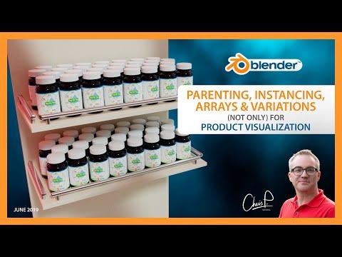Parenting, Instancing, Arrays & Variations - Product Visualization in Blender 3D