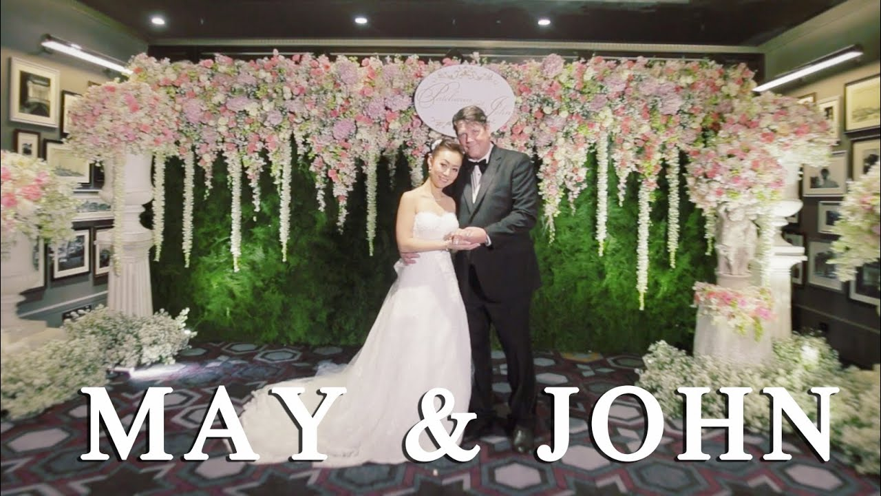 Wedding Reception May John At Jw Marriott Hotel Bangkok Thailand