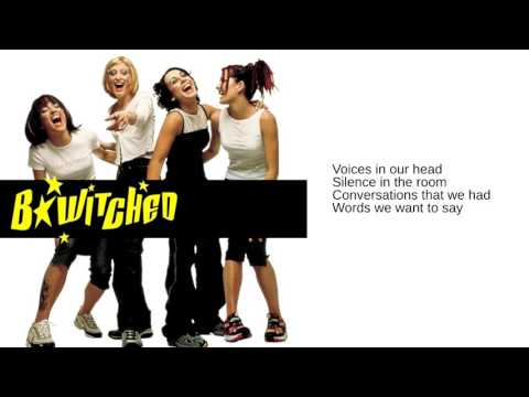 B*Witched: Together We'll Be Fine (Lyrics)