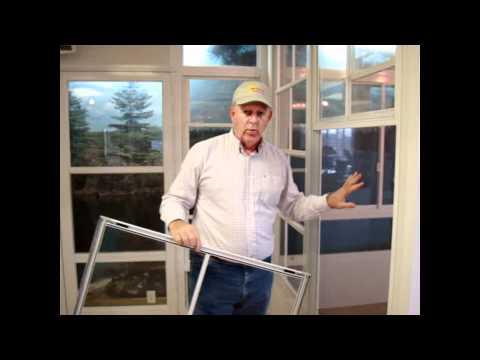 Eze-Breeze Windows - 3-Season Sunroom - Enclose Your Porch or Patio