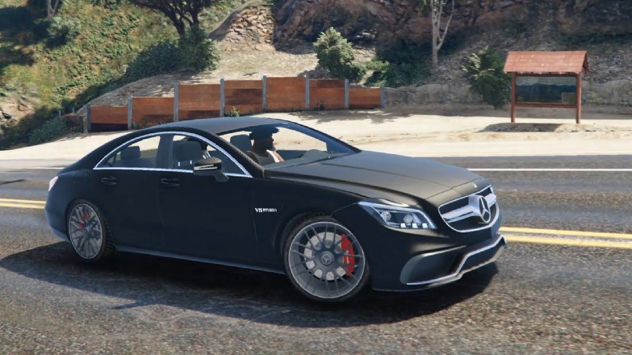 mercedes benz cls 6 3 amg 2015 gta v youtube. Black Bedroom Furniture Sets. Home Design Ideas