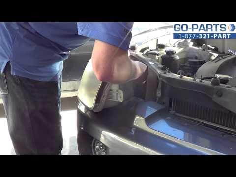 Replace 2001-2006 Hyundai Santa Fe Headlight / Bulb, How To Change Install 2002 2003 2004 HY2503134