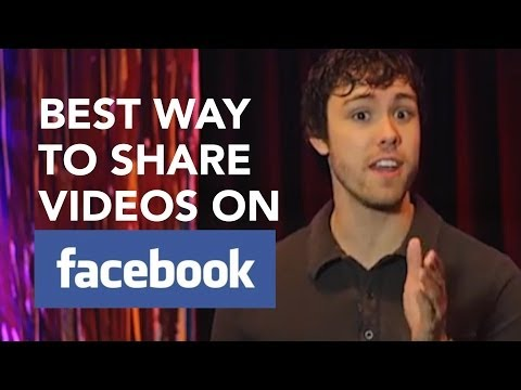 Best Way to Share Videos On Facebook