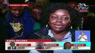 Kibra By-election: Reactions of ODM leaders at Woodley
