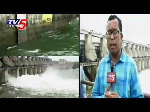 సింగూరుకు భారీగా వరదనీరు..! | Heavy Inflow To Singur Project | TV5 News