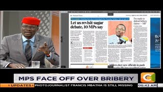 Fred Indimuli: Are you saying that majority of the MPs received the...