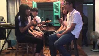 [15/11/2015] Bài thơ màu mực tím - team Lâm @ CLB Guitar NCT