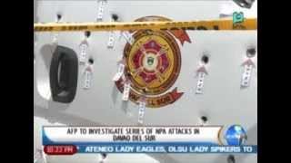 NewsLife: AFP to investigate series of NPA attacks in Davao Del Sur || Mar. 13,