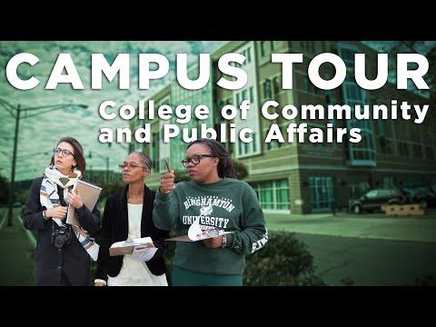 Binghamton University - College of Community and Public Affairs (CCPA) Tour