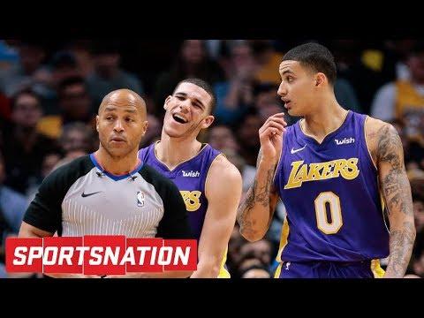 Did Lonzo Ball cross a line with Kyle Kuzma diss track Kylie Kuzma? | SportsNation | ESPN