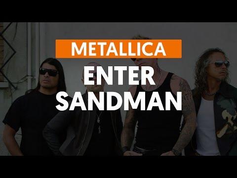 Enter Sandman - Metallica (aula de guitarra)