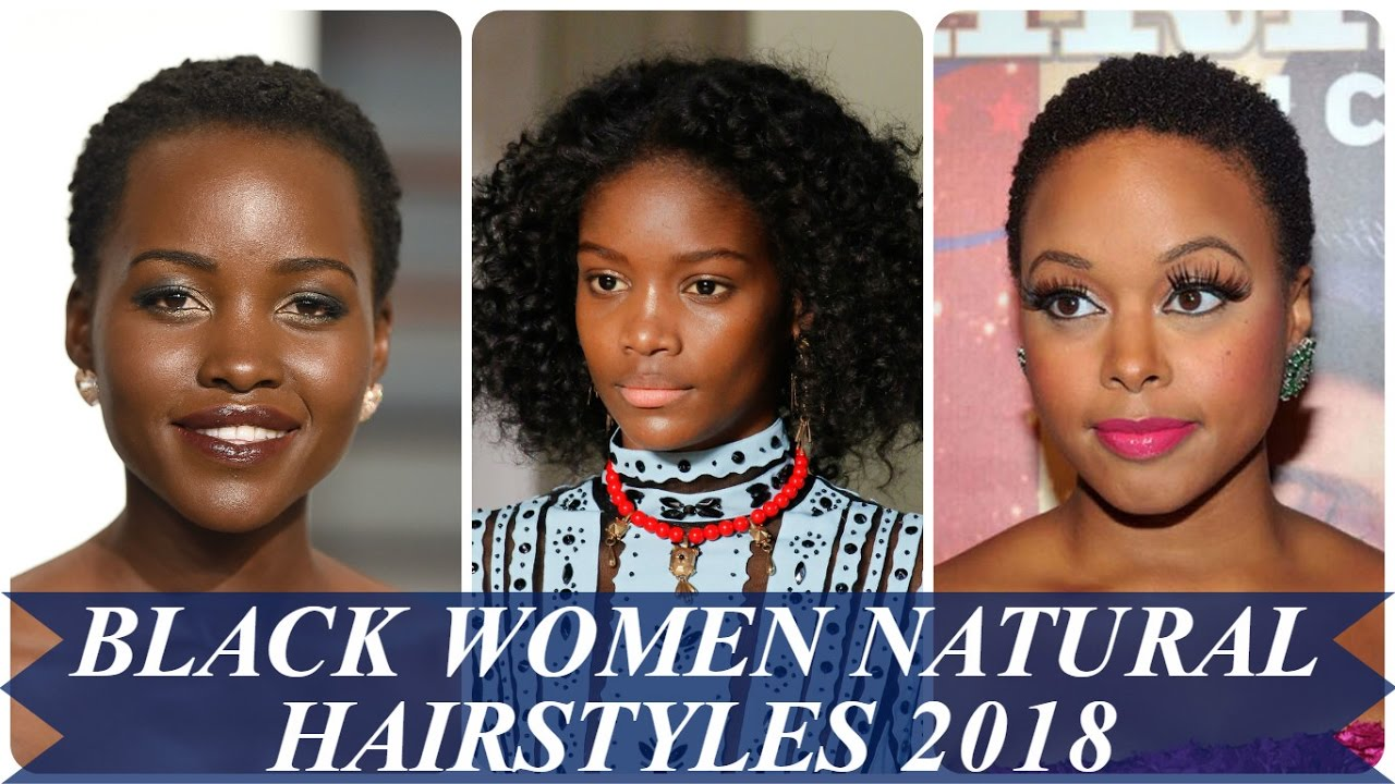Short Natural Hairstyles For Black Women Youtube