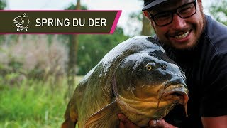 Carp Fishing - Samir and Claire