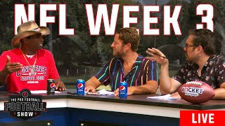 The Pro Football Football Show is back for Week 3. Prepare for NFL Sunday with Barstool Sports.