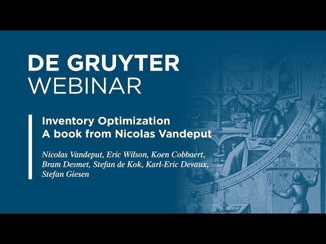 Nicolas Vandeput: Taking Inventory Optimization to the Next Level