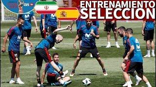 Irán-España | Entrenamiento previo al segundo partido de la Selección | Diario AS