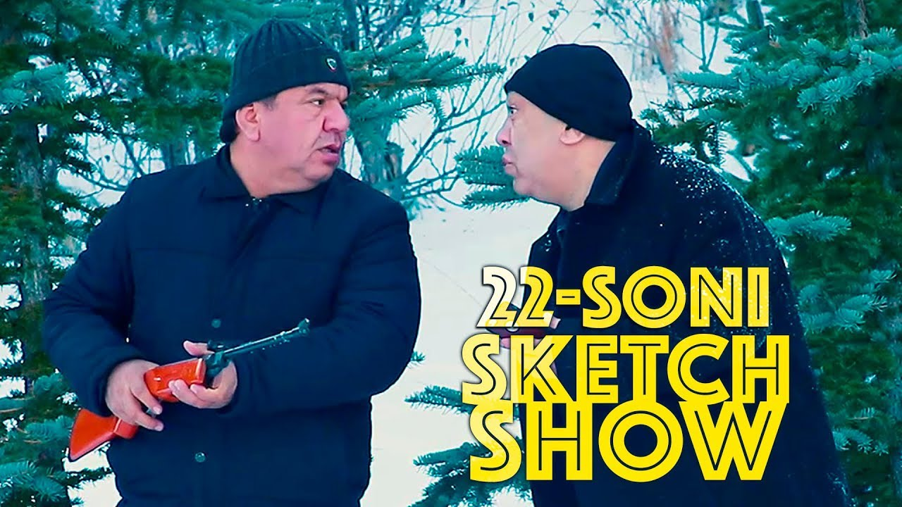 Sketch SHOW 22-soni (Mirzabek Xolmedov, Zokir Ochildiyev, Shukurullo Isroilov, Abror Baxtyarovich)