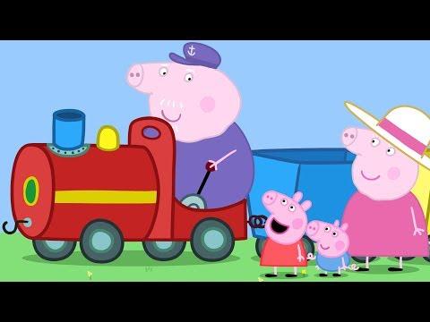 Peppa Pig Français | 3 Épisodes | Le Petit Train de Papy Pig | Dessin Animé Pour Enfant #PPFR2018
