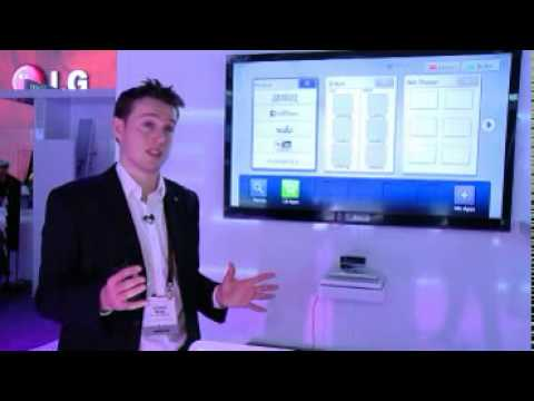 LG Smart TV Upgrader Demo At CES 2011