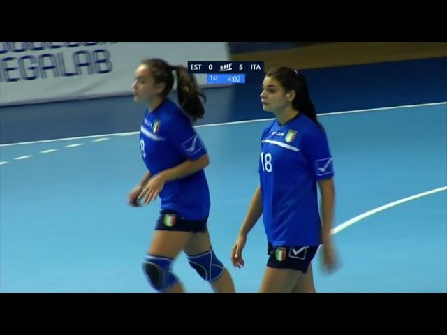 W17 EHF Championship: l'Italia chiude al quinto posto