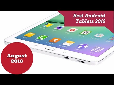 ►Best Android Tablets 2016 -August 2016◄