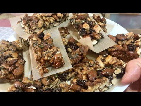 Mixed Nuts & Seeds granola bar
