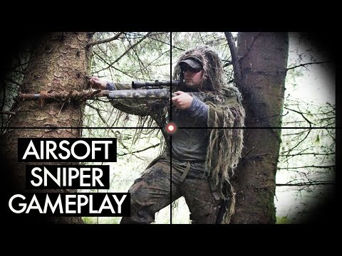 Woodland Airsoft Sniper - Zoomcam