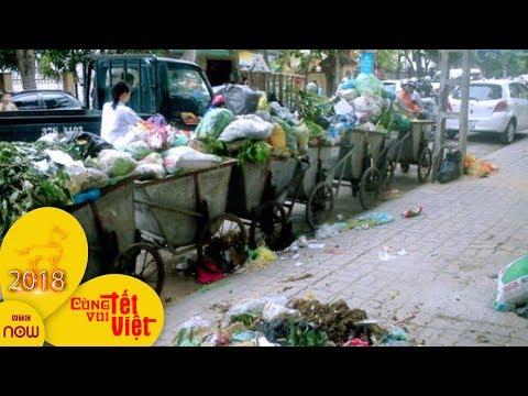4 ngày Tết, Hà Nội thải 16.000 tấn rác | VTC1
