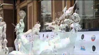 Ларуссия Туры в Петербург  Ледовая скульптура в Питере(, 2011-04-21T05:02:05.000Z)
