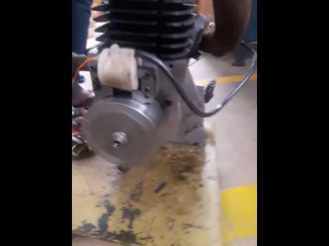 Ushtara 2 Stroke Engine with Electronic Ignition