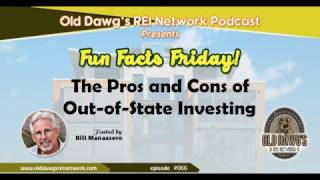 066: The Pros and Cons of Out-of-State Investing