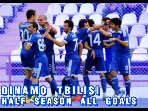 FC Dinamo Tbilisi half season all goals 2014/2015