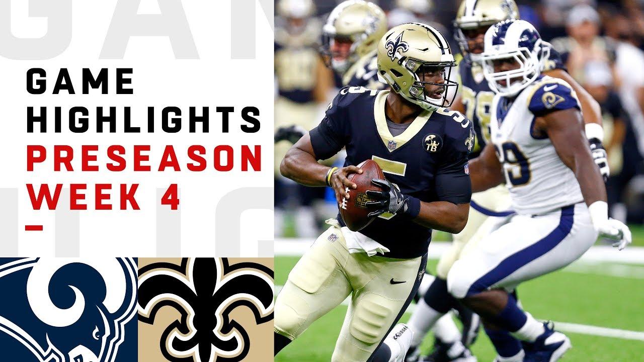Rams vs. Saints Highlights  5faa14996