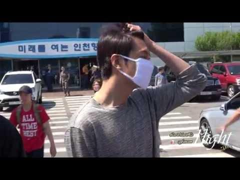 Lee Min Ho 20160528 인천항여객터미널