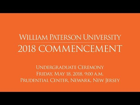 WP Undergraduate Commencement Ceremony 2018