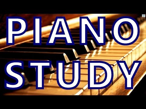 """""""Homework Music"""" to HELP You Study: concentration piano music, classical music for brain power"""
