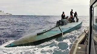 Coast Guard Intercepting Submarine Carrying 181 Million In Drugs