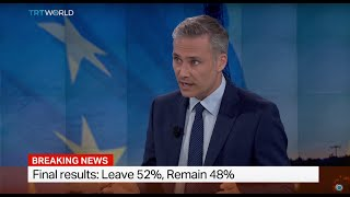 TRT World's Matthew Moore talks about the UK economy after Brexit vote