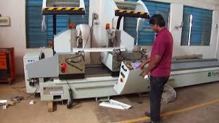 DOUBLE HEAD SAWING MACHINE- BLITZ ALVA 500M | COBRA INDUSTRIAL MACHINES-UAE