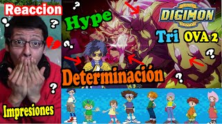 Digimon Adventure Tri. Capitulo 2, Determinacion - Reaccion, Opinion, Impresiones!!! Resumen!!!