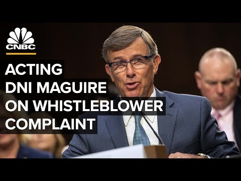 Acting DNI Joseph Maguire testifies about Trump whistleblower complaint – 09/26/2019
