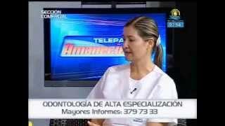 Falsos diseños de sonrisa con la Dra. Ana Fernanda Soto en Telepacífico