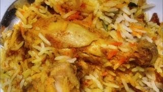 Chicken Biryani Recipe How To Make Chicken Biryani - Jikoni Magic