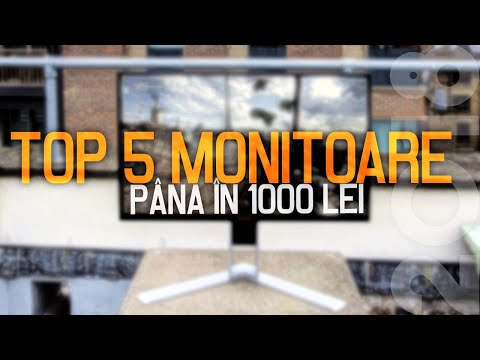 TOP 5 Monitoare până în 1000 lei  FABRICANTUL
