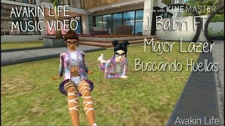 Avakin Life/Music video.🎶 Buscando Huellas -  Major Lazer FT. J. Balvin & Sean Paul.