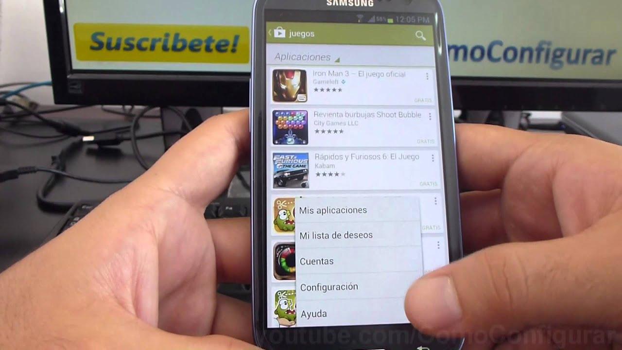 Como Descargar Juegos Gratis Para Android Samsung Galaxy S3 Espanol