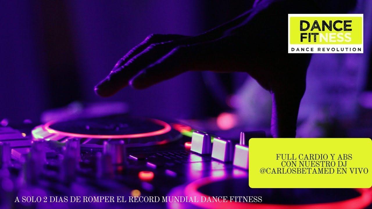 FULL CARDIO Y ABS. CON NUESTRO DJ EN VIVO @CARLOSBETAMED