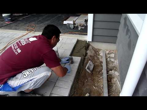 How To Lay a Drycast Paving Driveway