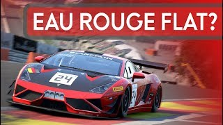 Can All Cars in ACC go Through Eau Rouge Flat?